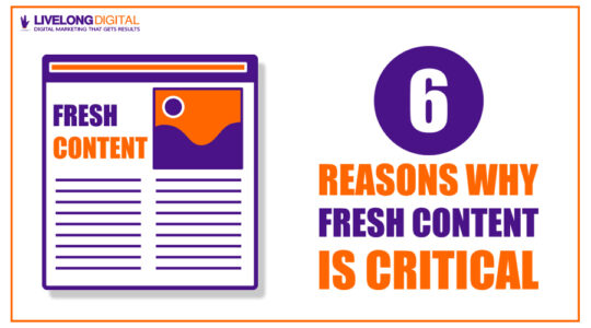6 Reasons Why Fresh Content is Important for Your Business