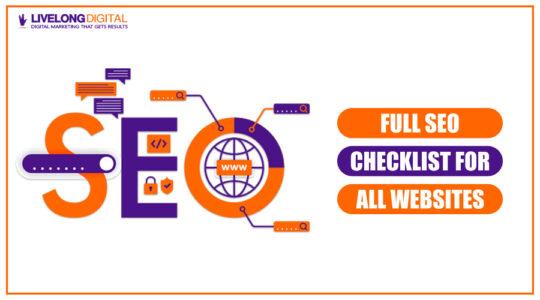Full SEO Checklist for All Website Types